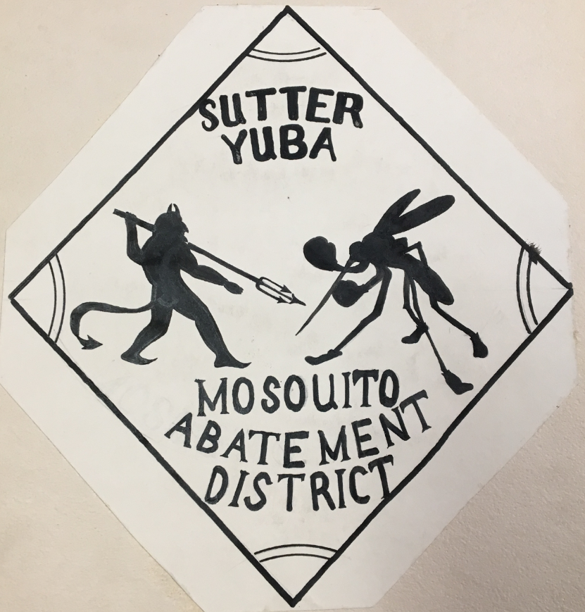 Mosquito Control artwork contest submission